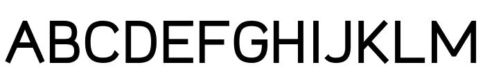 Logico Sans Bold Font UPPERCASE