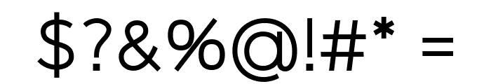 Logico Sans Regular Font OTHER CHARS