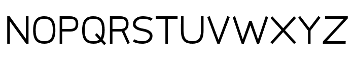 Logico Sans Regular Font UPPERCASE