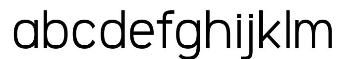 Logico Sans Regular Font LOWERCASE