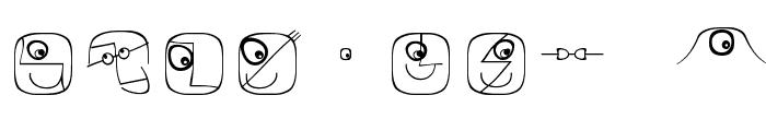 LogoFacesArtists Font OTHER CHARS