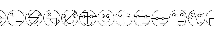 LogoFacesToolbox Font UPPERCASE