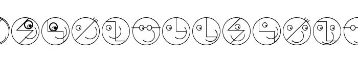 LogoFacesToolbox Font LOWERCASE