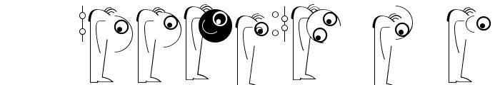 LogoModelsBowToBoss Font OTHER CHARS