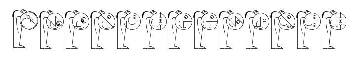 LogoModelsBowToBoss Font LOWERCASE