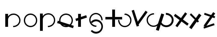 LogomatiqueBold Font LOWERCASE