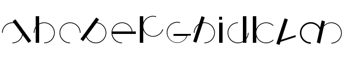 Logomatique Font LOWERCASE