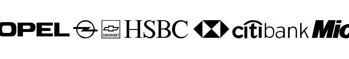 Logos tfb Font UPPERCASE