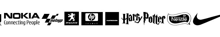 Logos tfb Font LOWERCASE