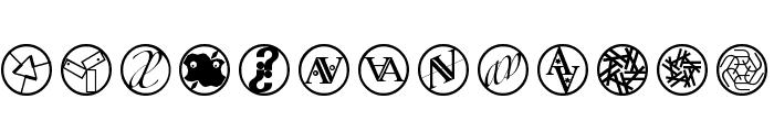 LogosExercises Font LOWERCASE