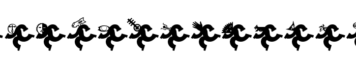 Logotrainer Font UPPERCASE