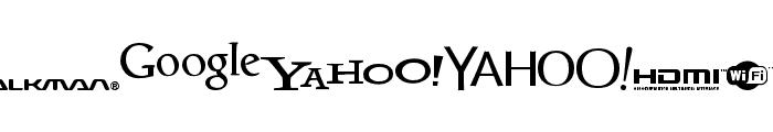 Logoz-Librariez Font OTHER CHARS