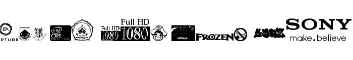 Logoz-Librariez Font UPPERCASE
