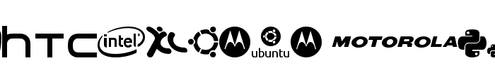 Logoz-Librariez Font LOWERCASE
