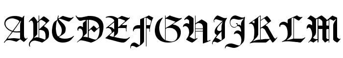 Lohengrin Font UPPERCASE