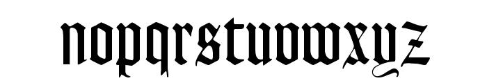 Lohengrin Font LOWERCASE