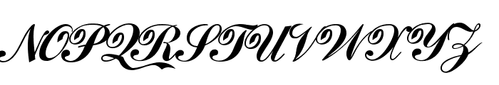 Loki Cola Font UPPERCASE