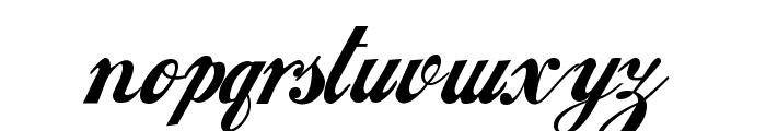 Loki Cola Font LOWERCASE