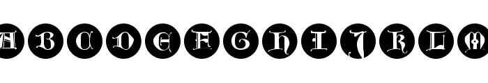 LombardInitials Font LOWERCASE