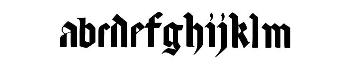 LombardPlattfuss Font LOWERCASE