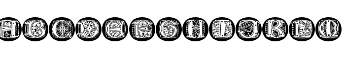 LombardiCaps Round Font LOWERCASE