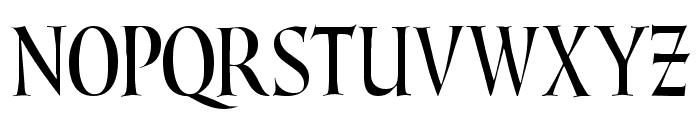 Lombardic Narrow Font UPPERCASE