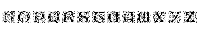 Lombardina Initial One Font UPPERCASE