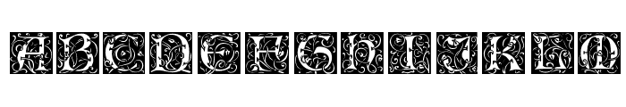 Lombardina Initial Two Font UPPERCASE