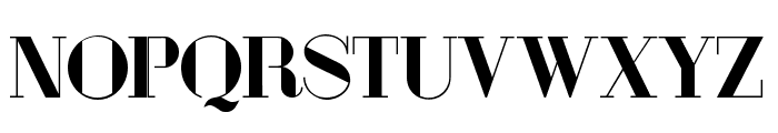 London Fill Bold Font UPPERCASE
