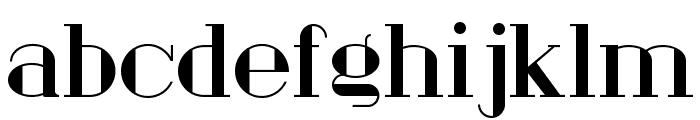 London Fill Font LOWERCASE