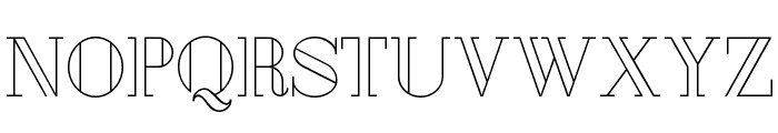 London Font UPPERCASE
