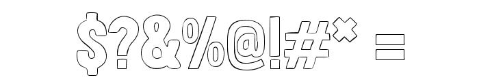 Londrina Outline Font OTHER CHARS