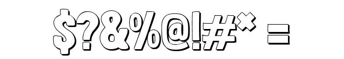 Londrina Shadow Regular Font OTHER CHARS