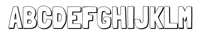 Londrina Shadow Regular Font UPPERCASE
