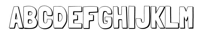 Londrina Shadow Font UPPERCASE