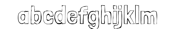 Londrina Sketch Font LOWERCASE