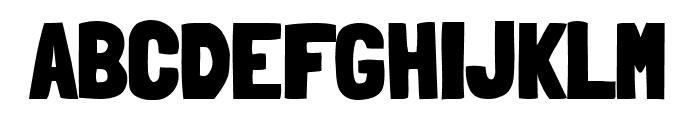 Londrina Solid Black Font UPPERCASE