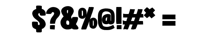 LondrinaBlack-Regular Font OTHER CHARS