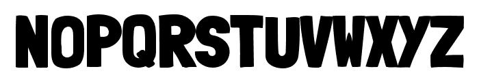 LondrinaBlack-Regular Font UPPERCASE