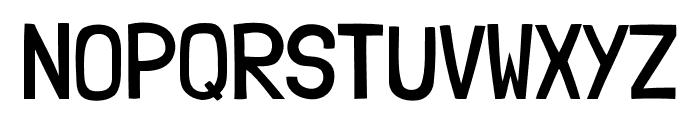 LondrinaBook-Regular Font UPPERCASE