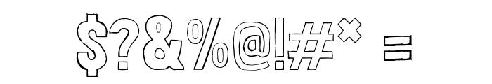 LondrinaSketche-Regular Font OTHER CHARS