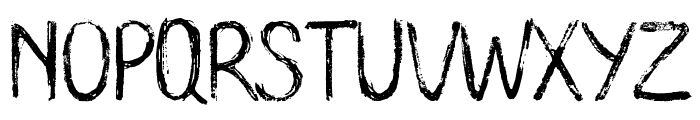 Long Clam Demo Version Font LOWERCASE