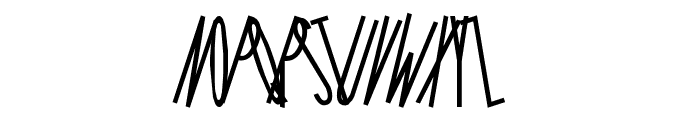 Long Island Iced Tea Font UPPERCASE