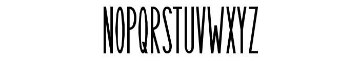 Long Island Font UPPERCASE