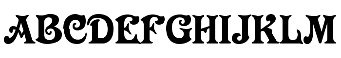 Longdon Decorative Font UPPERCASE