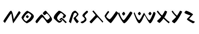 Lontara Font UPPERCASE