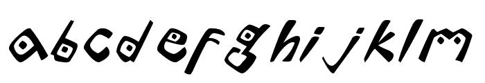 Lontara Font LOWERCASE