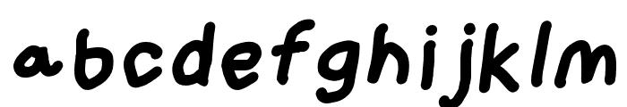 Loogie Hawk Oblique Font LOWERCASE