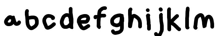 Loogie Hawk Font LOWERCASE