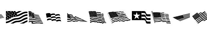Look for America Font UPPERCASE